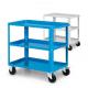 Carrello da lavoro a 3 vasche IDEAONE Fami - colore blu
