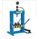 Pressa manuale idraulica da banco con pistone mobile Fervi P001/10